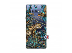 Coque Samsung Galaxy Note 9 Leopard Jungle