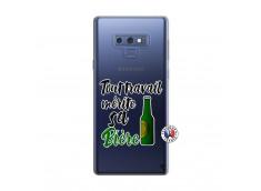 Coque Samsung Galaxy Note 9 Tout Travail Merite Sa Biere