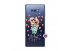 Coque Samsung Galaxy Note 9 Puppies Love