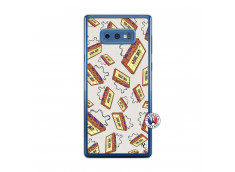 Coque Samsung Galaxy Note 9 Vintage Tape Translu