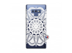 Coque Samsung Galaxy Note 9 White Mandala