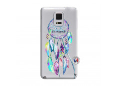 Coque Samsung Galaxy Note Edge Blue Painted Dreamcatcher