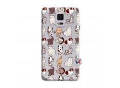 Coque Samsung Galaxy Note Edge Cat Pattern