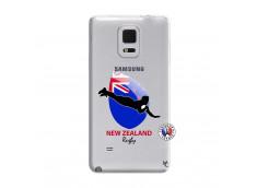 Coque Samsung Galaxy Note Edge Coupe du Monde Rugby- Nouvelle Zélande