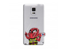 Coque Samsung Galaxy Note Edge Dead Gilet Jaune Impact