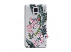 Coque Samsung Galaxy Note Edge Flower Birds