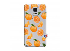 Coque Samsung Galaxy Note Edge Orange Gina