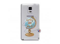 Coque Samsung Galaxy Note Edge Globe Trotter