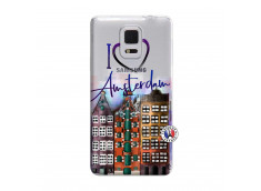 Coque Samsung Galaxy Note Edge I Love Amsterdam