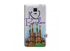 Coque Samsung Galaxy Note Edge I Love Barcelona