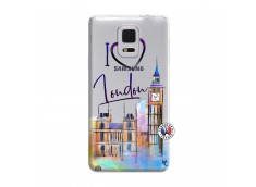 Coque Samsung Galaxy Note Edge I Love London