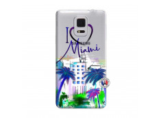 Coque Samsung Galaxy Note Edge I Love Miami