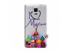 Coque Samsung Galaxy Note Edge I Love Moscow