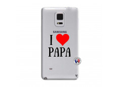 Coque Samsung Galaxy Note Edge I Love Papa