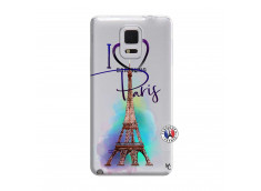 Coque Samsung Galaxy Note Edge I Love Paris