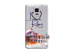 Coque Samsung Galaxy Note Edge I Love Rome
