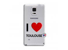 Coque Samsung Galaxy Note Edge I Love Toulouse