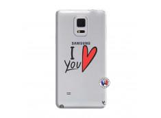Coque Samsung Galaxy Note Edge I Love You