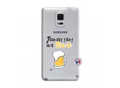 Coque Samsung Galaxy Note Edge Jamais Sans Ma Blonde