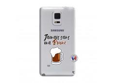 Coque Samsung Galaxy Note Edge Jamais Sans Ma Brune