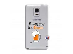 Coque Samsung Galaxy Note Edge Jamais Sans Ma Rousse