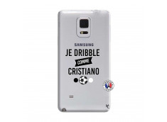 Coque Samsung Galaxy Note Edge Je Dribble Comme Cristiano