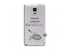 Coque Samsung Galaxy Note Edge Je Peux Pas J Ai Badminton