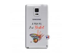 Coque Samsung Galaxy Note Edge Je Peux Pas J Ai Basket