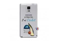 Coque Samsung Galaxy Note Edge Je peux pas j'ai cricket
