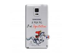 Coque Samsung Galaxy Note Edge Je Peux Pas J Ai Equitation