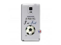 Coque Samsung Galaxy Note Edge Je peux pas j'ai Foot