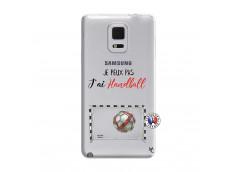 Coque Samsung Galaxy Note Edge Je peux pas j'ai Handball