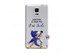 Coque Samsung Galaxy Note Edge Je peux pas j'ai Judo