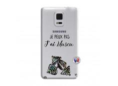 Coque Samsung Galaxy Note Edge Je peux pas j'ai muscu