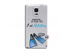 Coque Samsung Galaxy Note Edge Je Peux Pas J Ai Natation