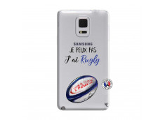 Coque Samsung Galaxy Note Edge Je Peux Pas J Ai Rugby