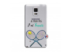 Coque Samsung Galaxy Note Edge Je Peux Pas J Ai Tennis