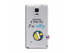 Coque Samsung Galaxy Note Edge Je Peux Pas J Ai Volley