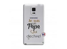 Coque Samsung Galaxy Note Edge Je Suis Un Papa Qui Dechire