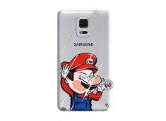 Coque Samsung Galaxy Note Edge Mario Impact