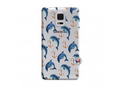 Coque Samsung Galaxy Note Edge Dauphins