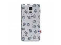 Coque Samsung Galaxy Note Edge Petits Hippos