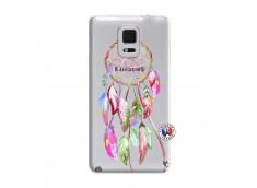 Coque Samsung Galaxy Note Edge Pink Painted Dreamcatcher