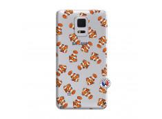 Coque Samsung Galaxy Note Edge Petits Poissons Clown