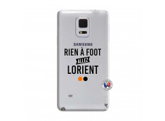 Coque Samsung Galaxy Note Edge Rien A Foot Allez Lorient
