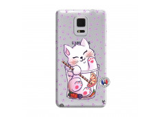 Coque Samsung Galaxy Note Edge Smoothie Cat