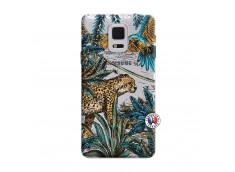 Coque Samsung Galaxy Note Edge Leopard Jungle