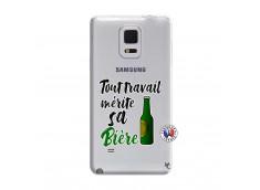 Coque Samsung Galaxy Note Edge Tout Travail Merite Sa Biere