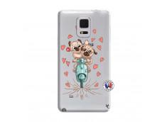 Coque Samsung Galaxy Note Edge Puppies Love