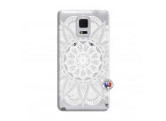 Coque Samsung Galaxy Note Edge White Mandala